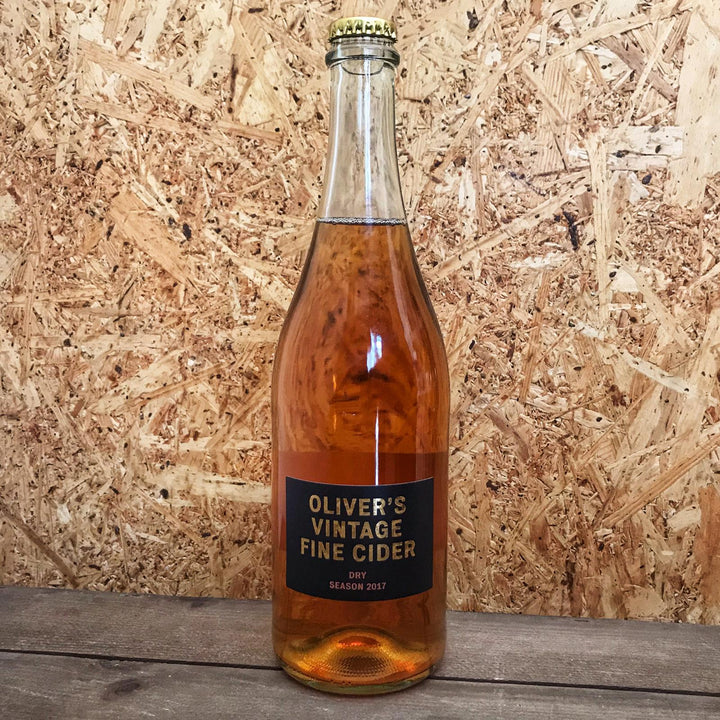 Olivers Vintage Cider 2017 8.4% (750ml)