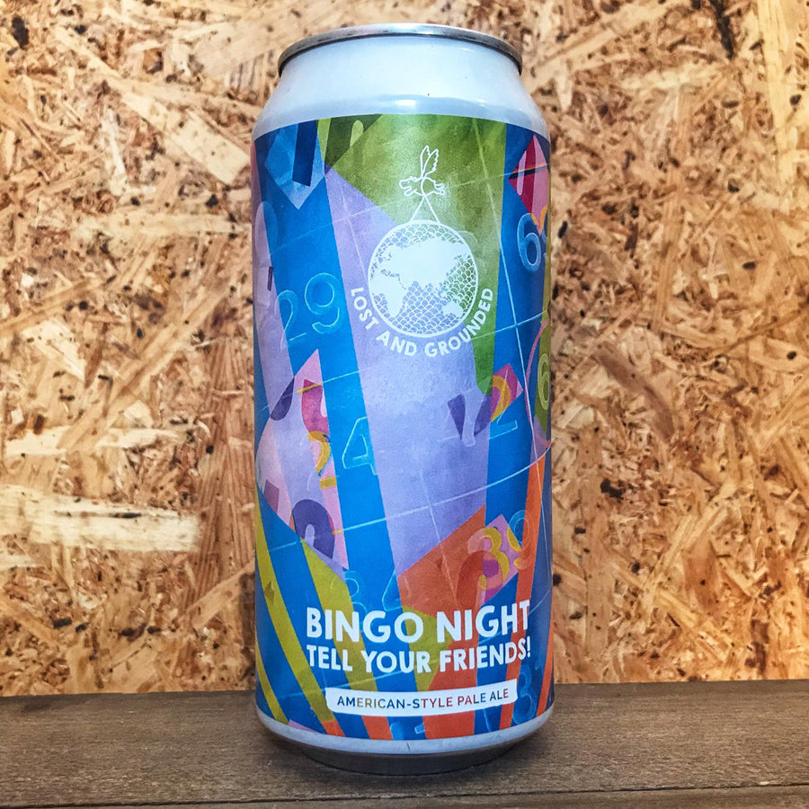 Lost Grounded Bingo Night Tell Your Friends Pale Ale 5.3% (440ml)