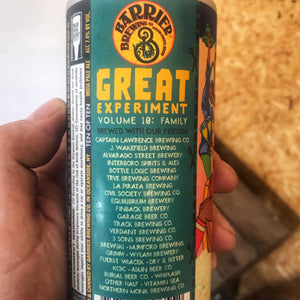 Barrier The Great Experiment Volume 10 7.4% (473ml)