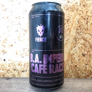 Fierce BA Imperial Cafe Racer Porter 9% (440ml)