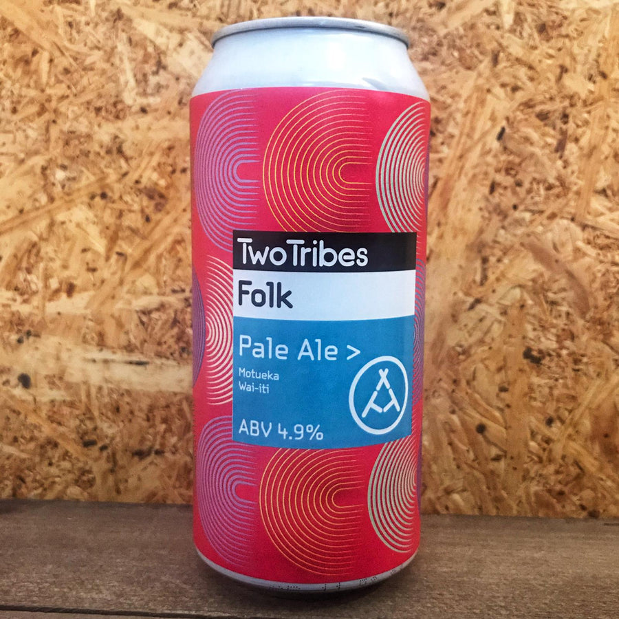 Two Tribes Folk Vermont Pale Ale 4.7% (440ml)