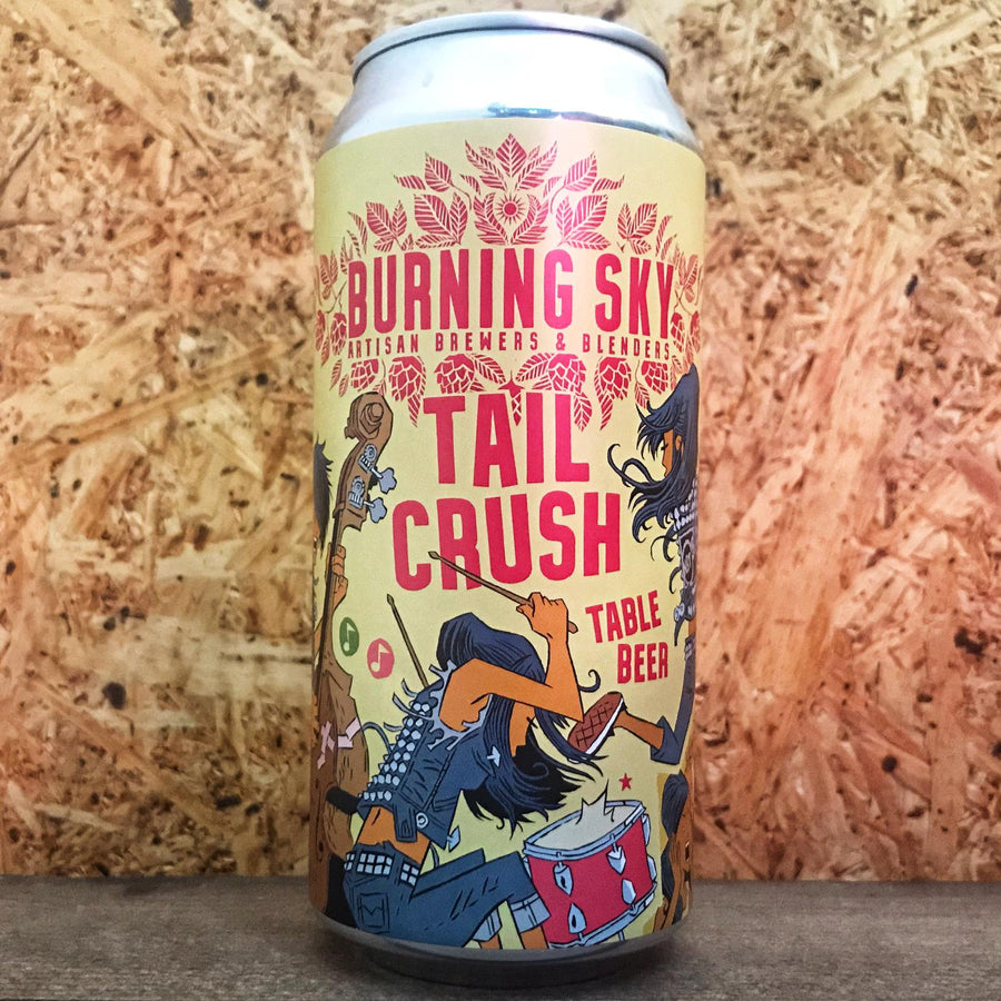 Burning Sky Tail Crush Pale Ale 3% (440ml)