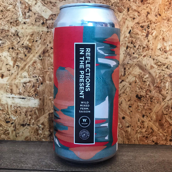 Wylam X Forest & Main Reflections In The Present Saison 4.9% (440ml)