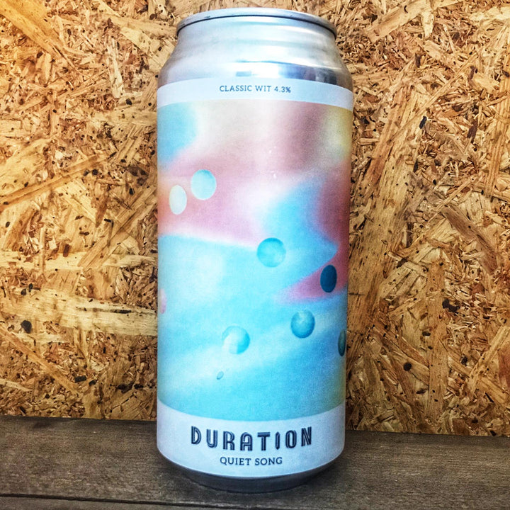 Duration Quiet Song Wit 4.3% (440ml)