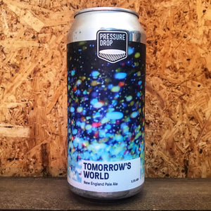 Pressure Drop Tomorrow's World NE Pale Ale 5.2% (440ml)