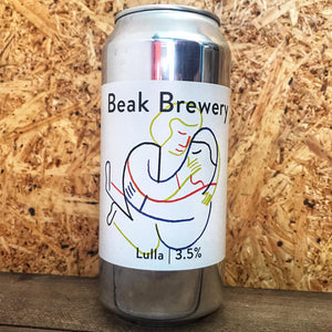 Beak Lulla Table Beer 3.5% (440ml)