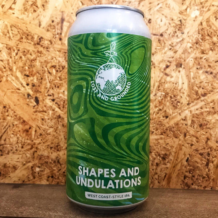Lost & Grounded Shapes & Undulations IPA 6.5% (440ml)