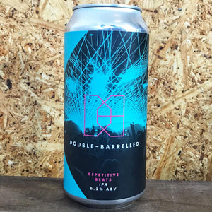 Double Barrelled Repetitive Beats IPA 6.2% (440ml)