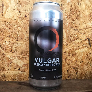 Equilibrium Vulgar Display of Flower DIPA 8.5% (473ml)