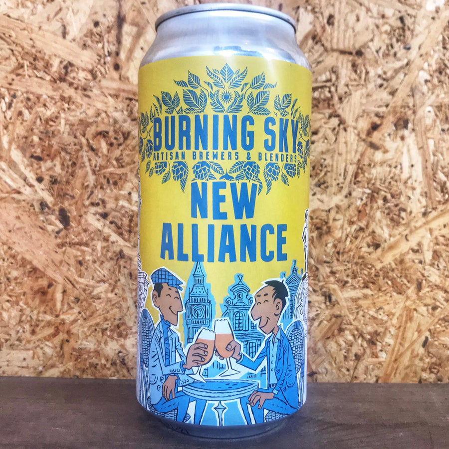 Burning Sky x De La Senne New Alliance Pale Ale 4.5% (440ml)