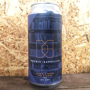 Double Barrelled Learn A Word, Use A Word IPA 6% (440ml)