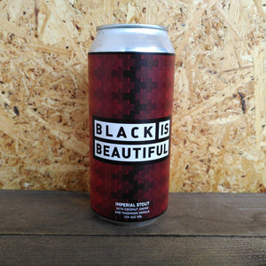 Left Handed Giant Black is Beautiful Impy Stout 10% (440ml)