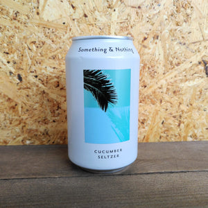 Something & Nothing Cucumber Seltzer (330ml)