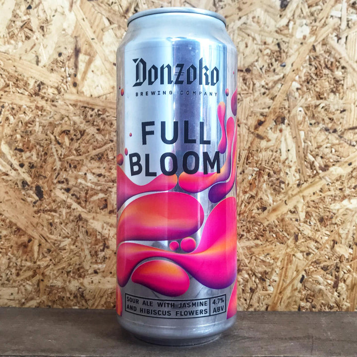 Donzoko Brewing Full Bloom Hibsicus Sour 4.7% (500ml)