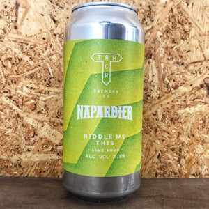 Track x Naparbier Riddle Me This Lime Sour 2.8% (440ml)