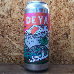 DEYA Cast Aspersions IPA 6.5% (500ml)