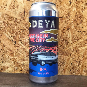 DEYA Meet Me In The City IPA 6.5% (500ml)