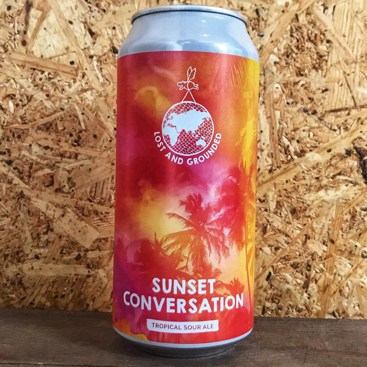 Lost & Grounded Sunset Conversations Sour 4.8% (440ml)