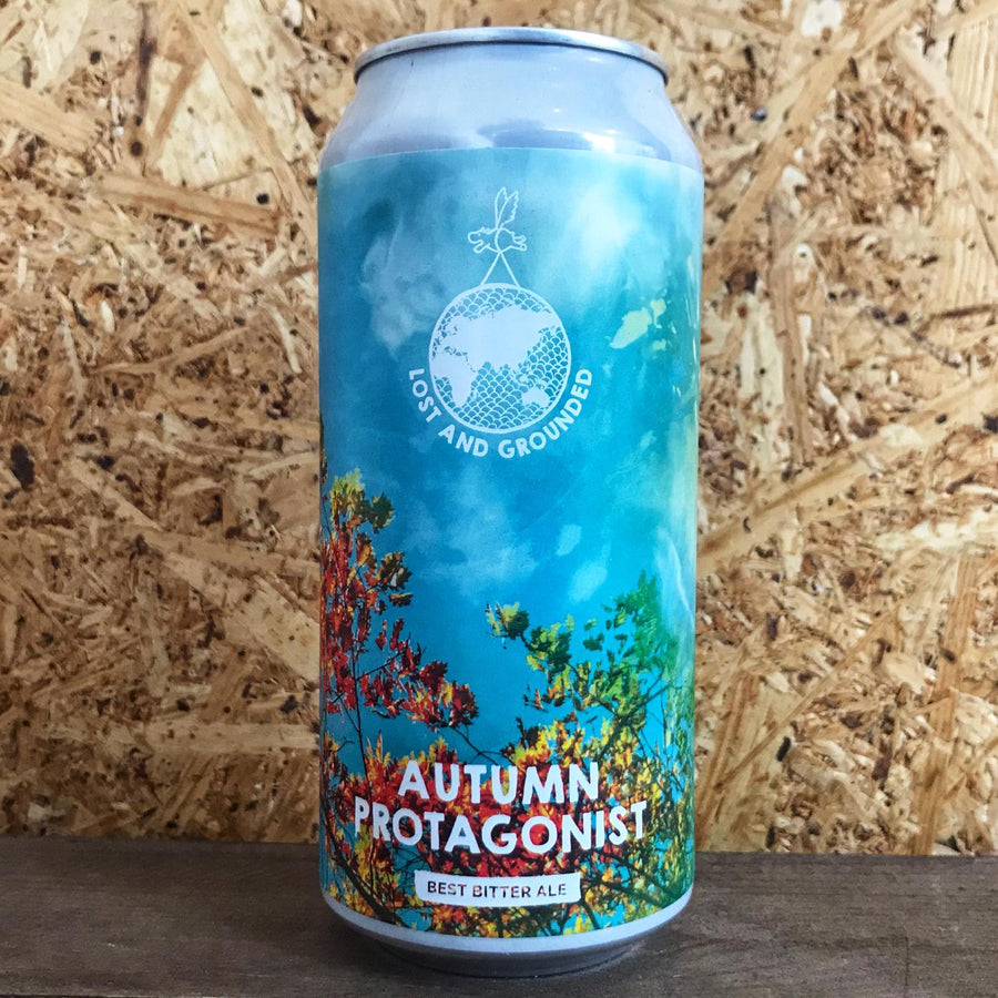 Lost & Grounded Autumn Protagonist Bitter 4.4% (440ml)