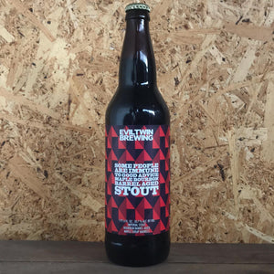 Evil Twin Some People Are Immune To Good Advice Maple Bourbon BA Imperial Maple Stout 10.7% (650ml)