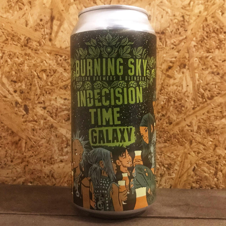 Burning Sky Indecision Time Galaxy Pale Ale 5.6% (440ml)