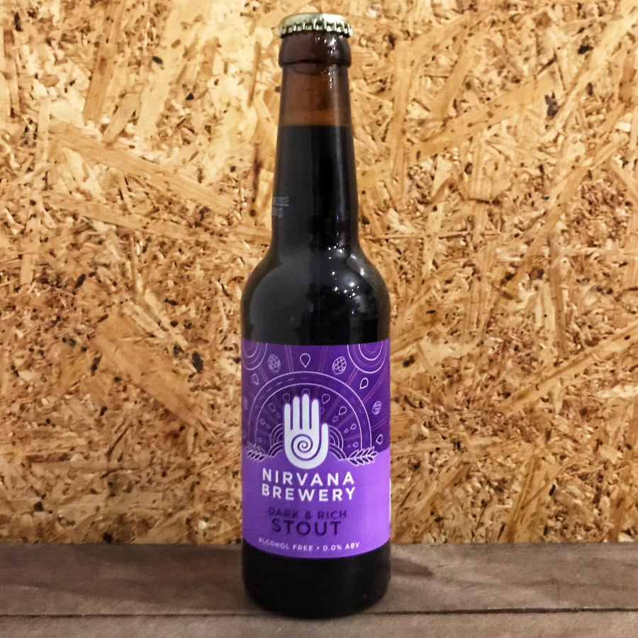 Nirvana Stout Alcohol Free 0.0% (330ml)