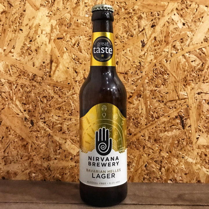 Nirvana Lager Alcohol Free 0.3% (330ml)