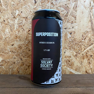 Solvay Society Superposition Witbier IPA 3.7% (440ml)