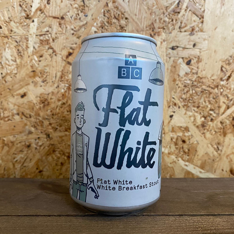 Alphabet Flat White 7.4% (330ml)