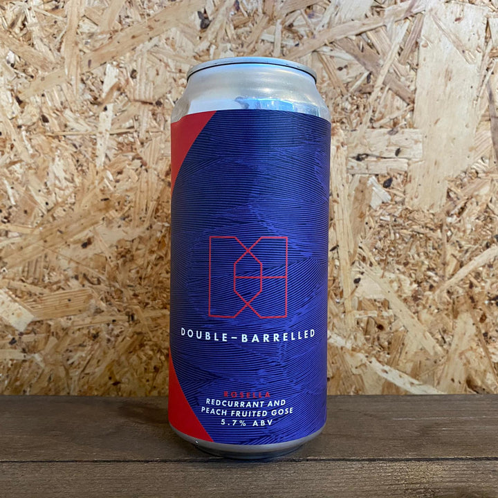 Double Barrelled Rosella Redcurrant & Peach Gose 5.7% (440ml)