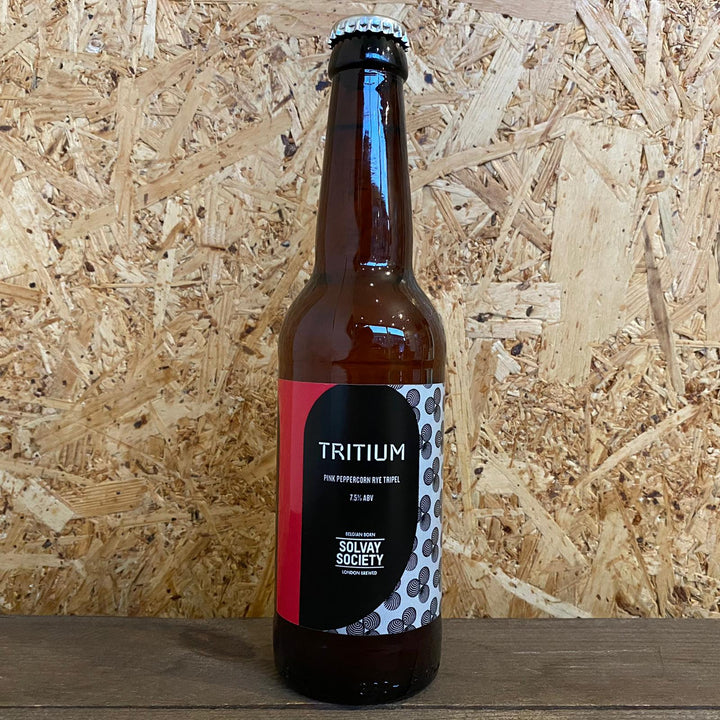 Solvay Society Tritium Pink Peppercorn Rye Tripel 7.5% (330ml)