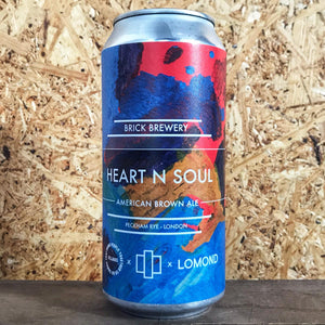 Brick x Villages Heart N Soul Brown Ale 6.5% (440ml)