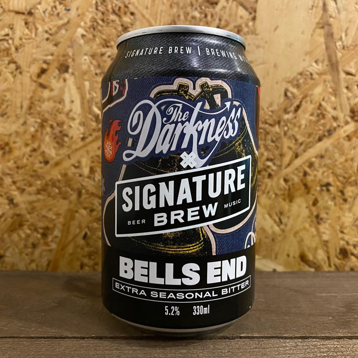 Signature x The Darkness Brew Bells End Extra Seasonal Bitter 5.2% (330ml)