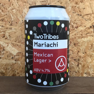 Two Tribes Mariachi Mexican Lager 4.7% (330ml)