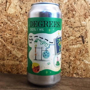 Verdant x DEYA Degrees DIPA 8% (440ml)
