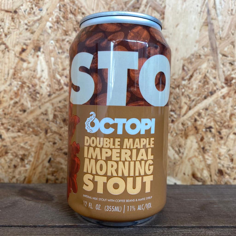 Octopi Double Maple Imperial Morning Stout 11% (355ml)