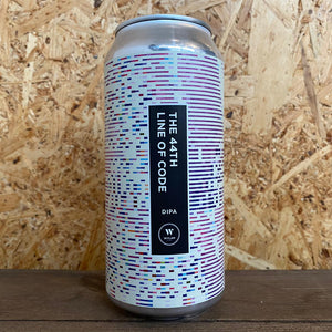 Wylam 44th Line Of Code DIPA 8% (440ml)