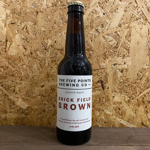 Five Points Brick Field Brown 5.4% (330ml)