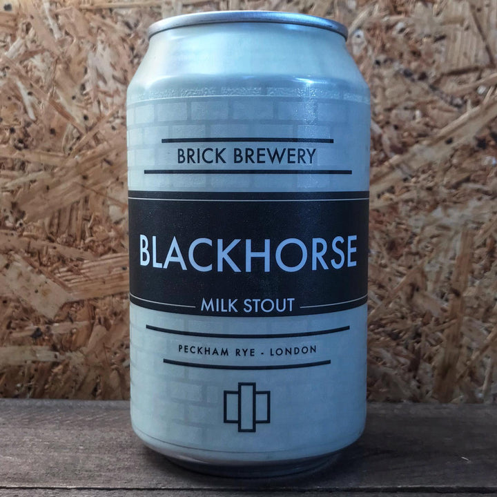 Brick Blackhorse Milk Stout 4.7% (330ml)