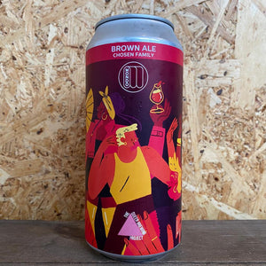 Mondo x Queer Brewing Project Chosen Family Brown Ale 5.2% (440ml)