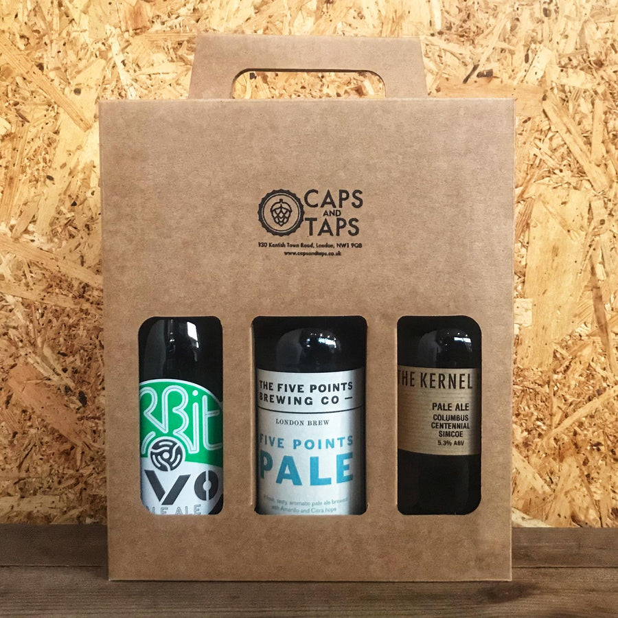 London Pale Ale Three Bottle Gift Pack (3x330ml)