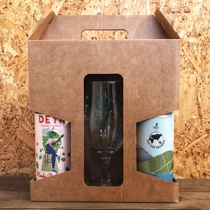 Two Beers & Glass Gift Box