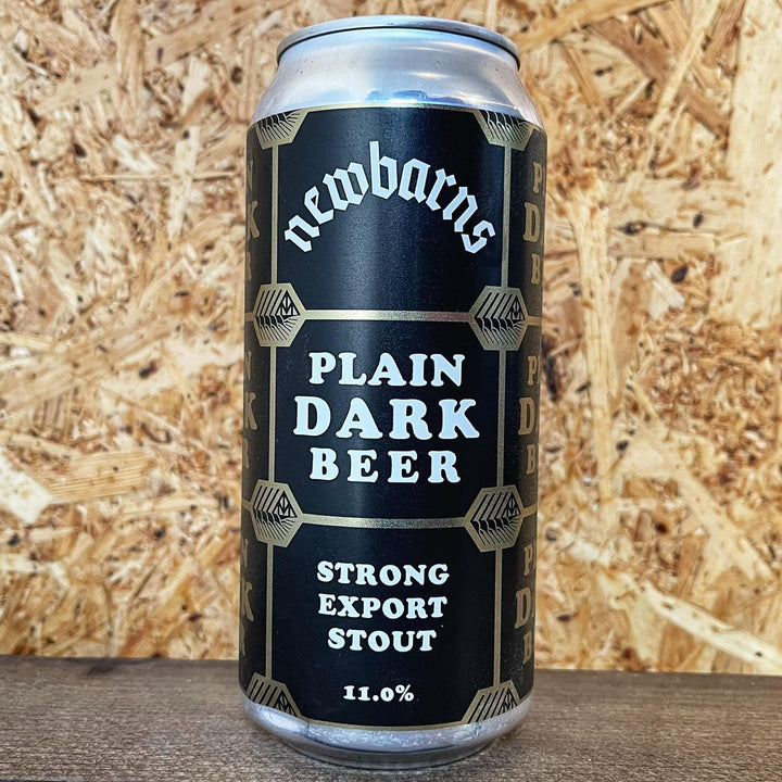Newbarns Brewery Plain Dark Beer 11% (440ml)