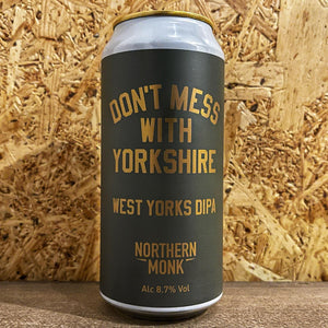 Northern Monk Dont Mess With Yorkshire DIPA 8.7% (440ml)