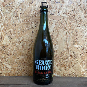 Boon Gueuze Black Label Five 7% (750ml)