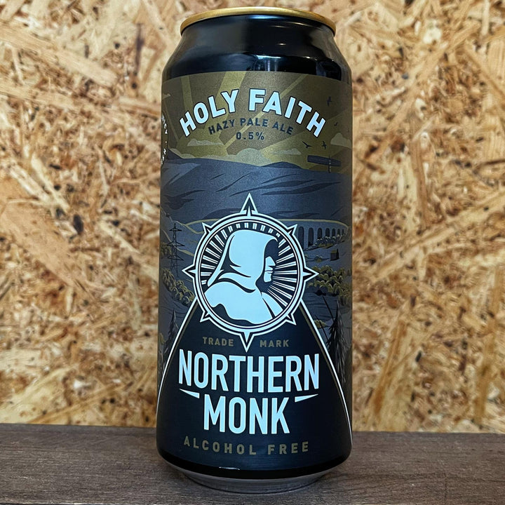 Northern Monk Holy Faith Pale Ale 0.5% (440ml)