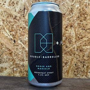 Double Barrelled Roger & Marcella Breakfast Stout 7.4% (440ml)