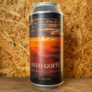 Burnt Mill Into Gold NE IPA 6.2% (440ml)
