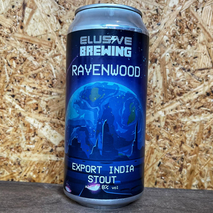 Elusive Brewing Ravenwood Export Stout 6.5% (440ml)