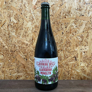 Burning Sky Elderberry Monolith 9.7% (750ml)